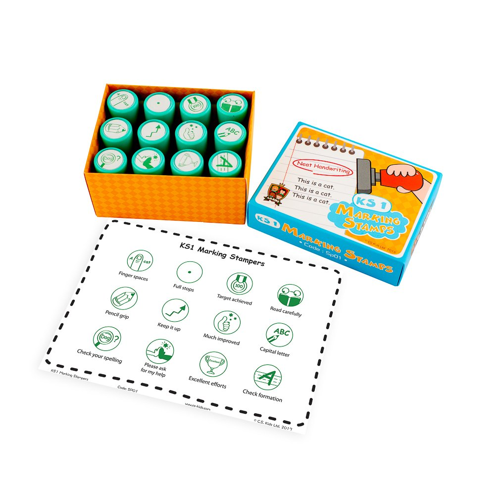 C.s. Kids KS1 Marking Stamper box set (12 timbri)