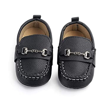 104fdfd85f4 Best Single Shoes For Newborn Baby Girls Solid Color Metal Casual Shoes  Soft Sole Crib Shoes Sneaker Prewalker (Age 12-18Months
