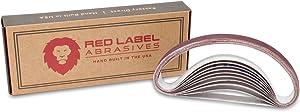 1/2 X 12 Inch Medium P320 Grit Knife Sharpener Sanding Belts, 10 Pack (Compatible with Work Sharp Knife & Tool Sharpener)