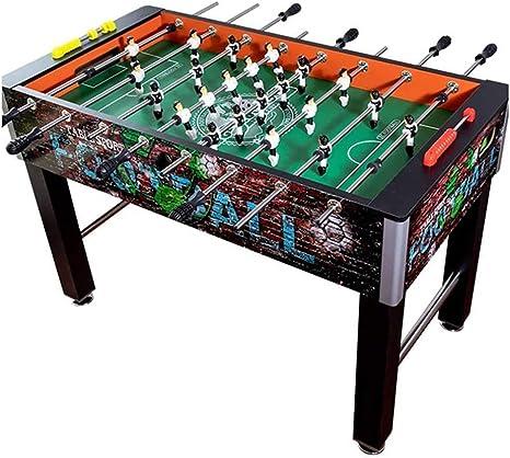 JJSFJH Tabla fútbol de Mesa en Miniatura Cuadro Competencia de Juegos Set Top Juego de Deportes de la habitación con Las piernas y 8 Clubes: Amazon.es: Deportes y aire libre