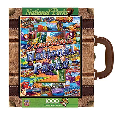 MasterPieces / Collector Suitcase 1000-piece Puzzle, National Parks