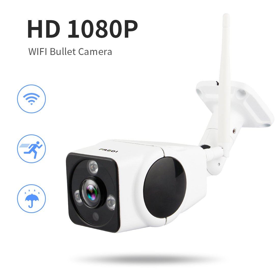 Ip camera fredi hd 1080p wireless home cctv security surveillance ip camera fredi hd 1080p wireless home cctv security surveillance outdoor wifi bullet waterproof camera with night vision motion detection vr901 publicscrutiny Images