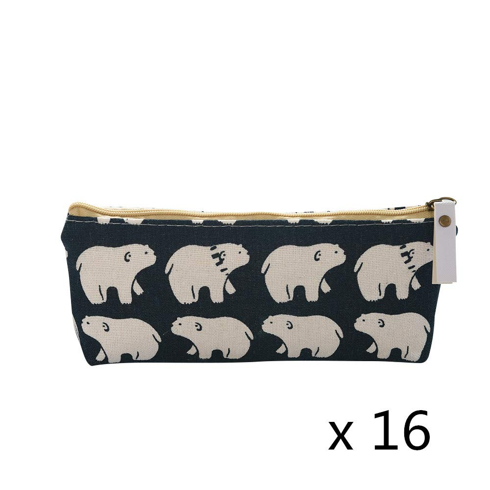 16x Universal Pencil Case Style A