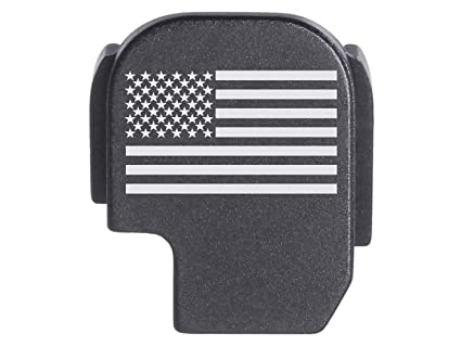 for Sig P365 Back Plate Rear Slide Cover Black NDZ - US Flag