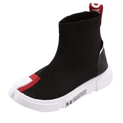 Zapatillas de Deporte Altos Aire Libre Running para Niños Niñas Invierno 2018 Moda PAOLIAN Zapatos de