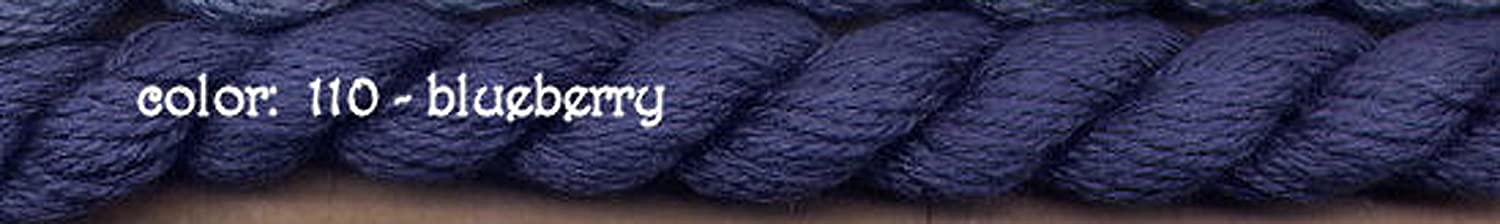BLUEBERRY-110-1 SKEINS WITH THIS LISTING SILK /& IVORY