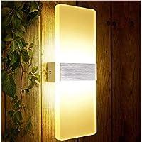 XIAJIA- 6W LED Lámpara de pared Interior,Moderna Apliques