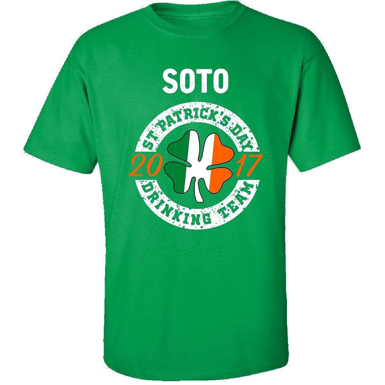 Soto St Patricks Day 2017 Drinking Team Irish - Adult Shirt