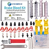 Cycobyco Mineral Oil Bicycle Hydraulic Disc Brake Bleed Kit for All Series Shimano/Magura/Tektro/ZOOM/CSC/ECHO/GIANT/HS33/NUTT