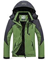 Amazon Com Wantdo Men S Mountain Waterproof Ski Jacket
