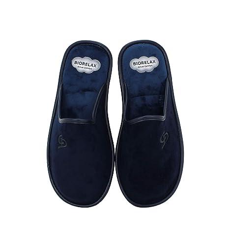 Zapatillas Biorelax - Zapatillas Casa Lisa Marino - Marino, 40: Amazon.es: Zapatos y complementos