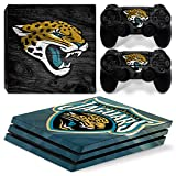 FriendlyTomato PS4 Pro Skin and DualShock 4 Skin - NFL - PlayStation 4 Pro Vinyl Sticker for Console and Controller Skin