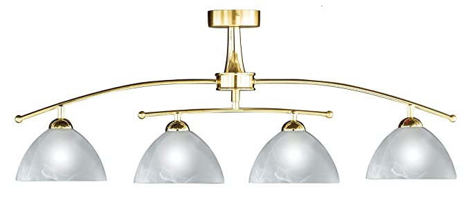 Prestige ceiling pendant light with polished brass frame amazon prestige ceiling pendant light with polished brass frame aloadofball Images