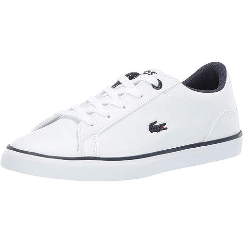 Lacoste Lerond BL 2 Blanco Marina De Guerra Sintético Jóvenes Entrenadores  Zapatos  Amazon.es  Zapatos y complementos 6155258f8eb6b