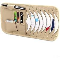 14.5cm Demarkt Tasche f/ür Sonnenblende Auto CD Tasche Sonnenblenden Organizer Rosa 29