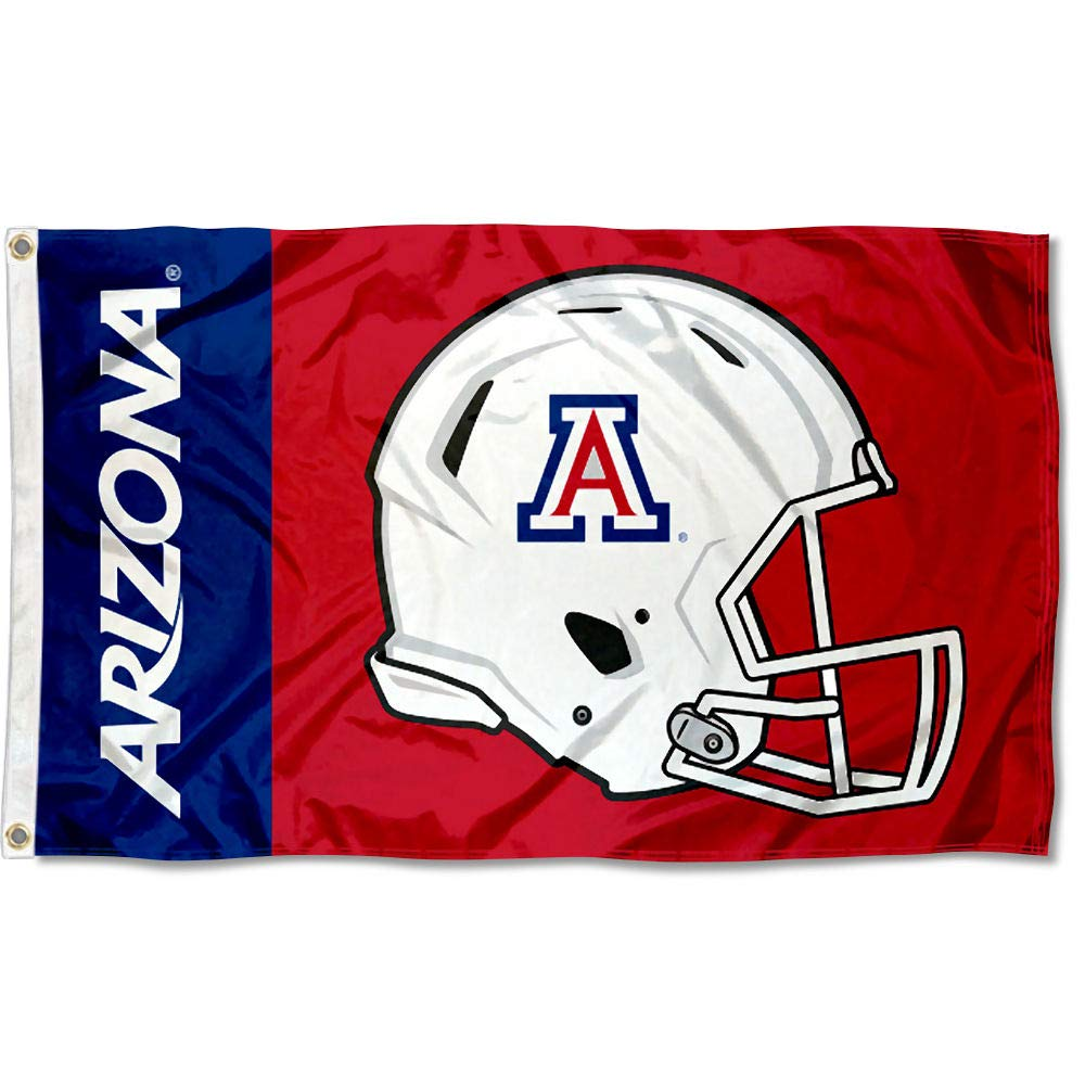 Arizona Wildcats Football Helmet Flag College Flags and Banners Co