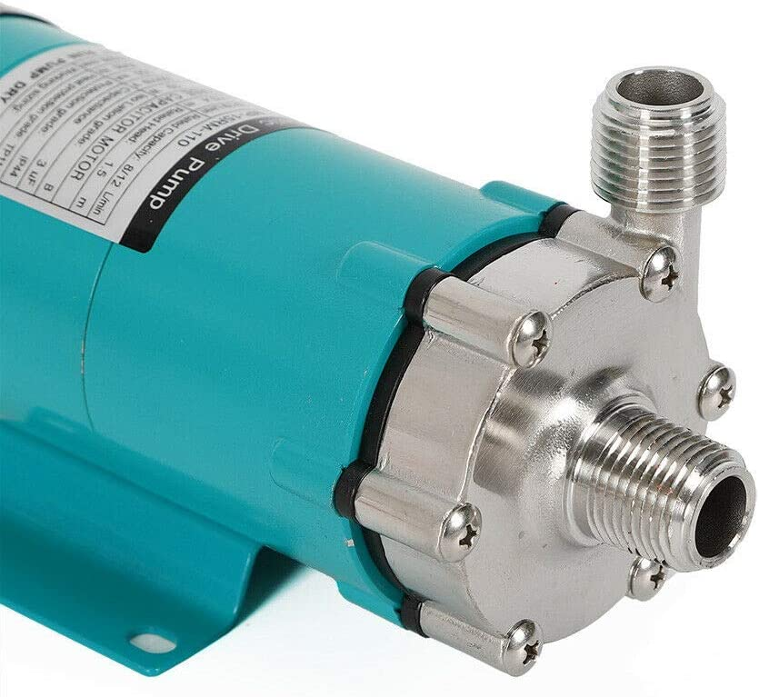 OUKANING 1//2 304 Edelstahl Head magnetischen Bierbrauen Pumpe 15R Magnetic Drive Pump