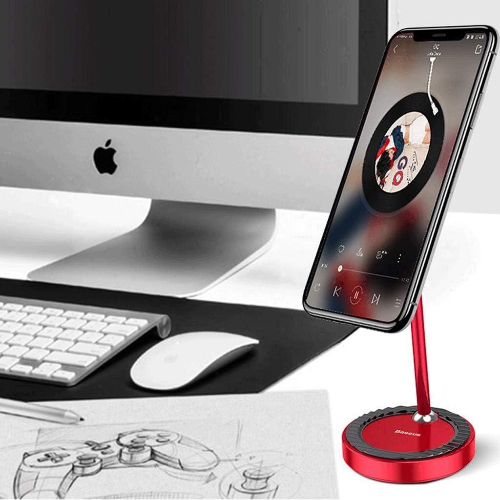 DESKTOP WGZ Phone Holder Universal Universal Holder Portable Color : Red IPad Tablet Holder