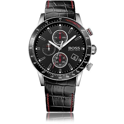 6cf4a1d9108c Hugo Boss 1513390 - Reloj analógico de cuarzo para hombre