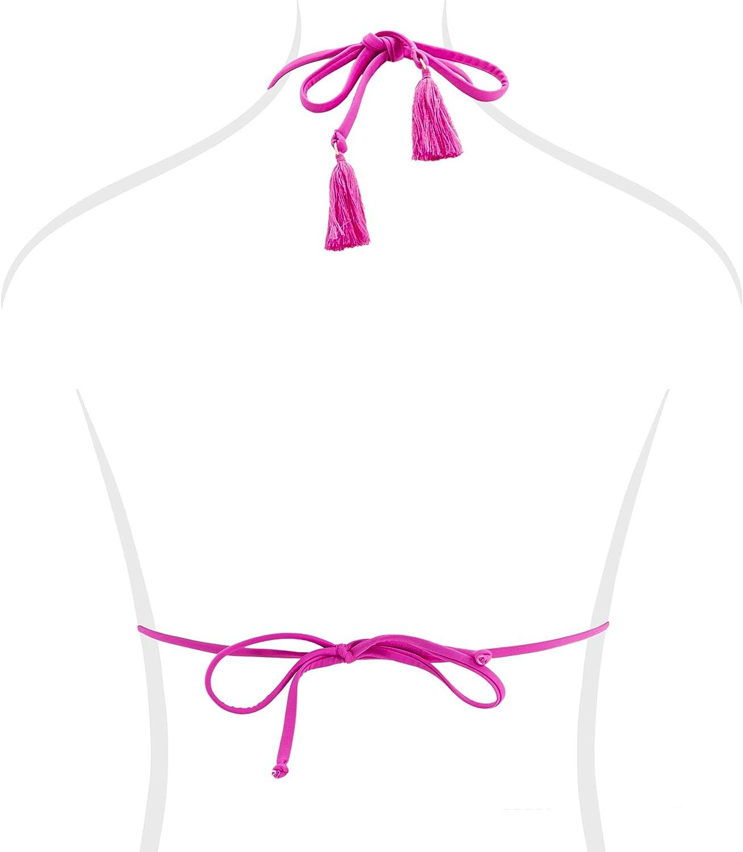 Goldenpoint Costume da Bagno Donna Reggiseno Bikini a Triangolo Neo Pop