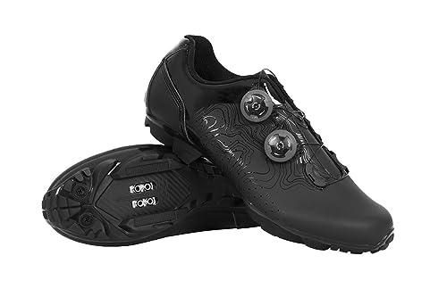 Massi MTB ERGON Black T.42, Zapatillas de Ciclismo de montaña Unisex Adulto, Negra, 42 EU: Amazon.es: Zapatos y complementos