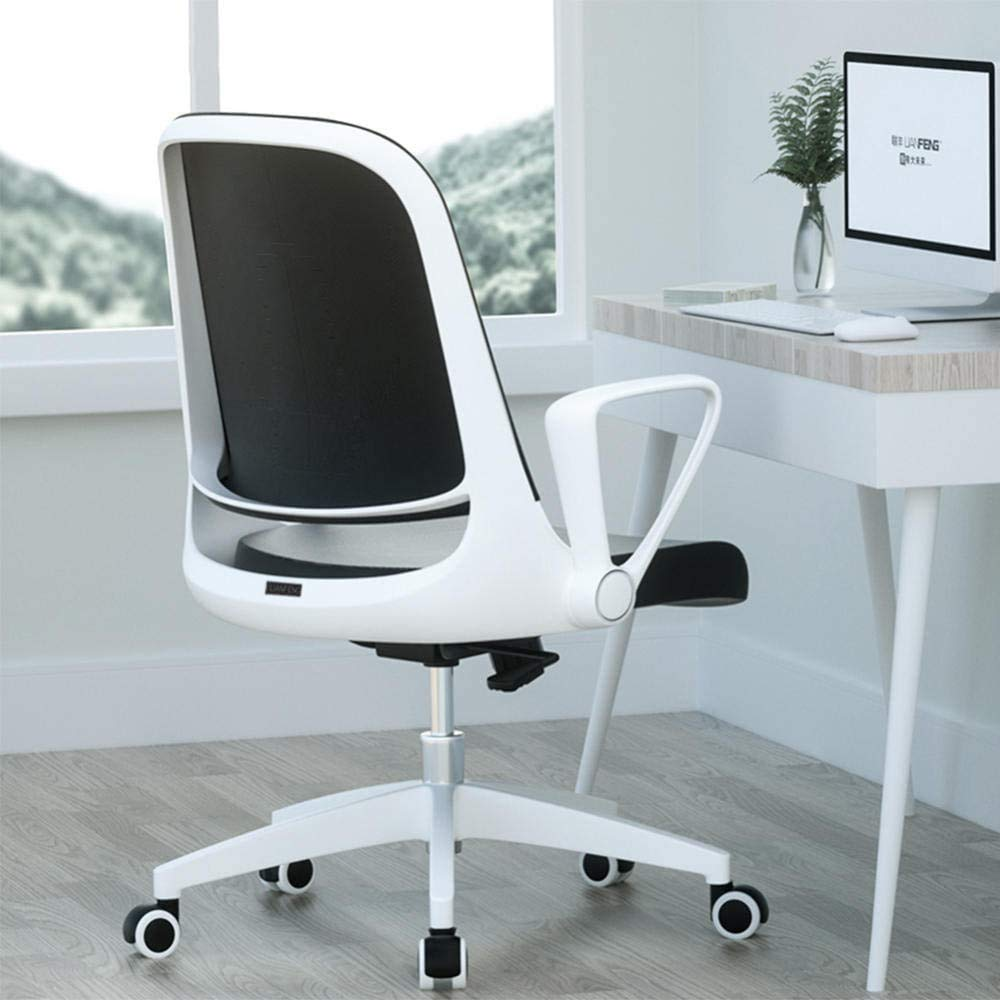 Kontorsmöbler kontorsstolar ergonomisk arbetsstol, kontor datorstolar, ergonomisk kontorsstol, vit Vitt