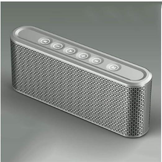 Lnyy Stereo Bluetooth Altavoz portátil Ultra bajo ...