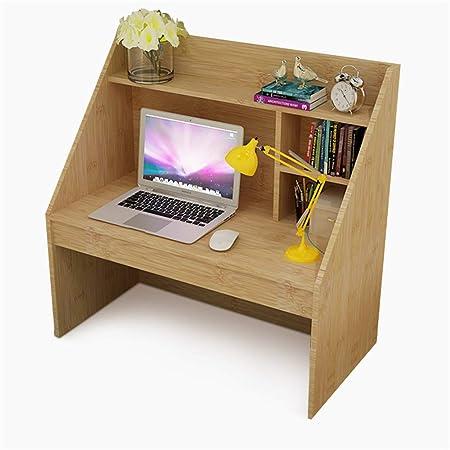 NNDQ Study Twin Loft Bed Computer Mesa de Escritorio, estantes ...