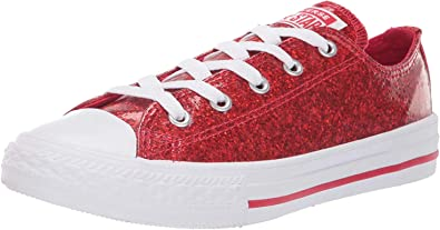Converse Shoes Chuck Taylor All Star Infant Baby Red White Low Top Ox Girls