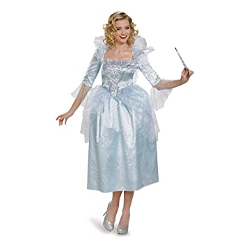 Disguise Womens Women s Cinderella Fairy Godmother Fancy dress costume Small 966d33e78e