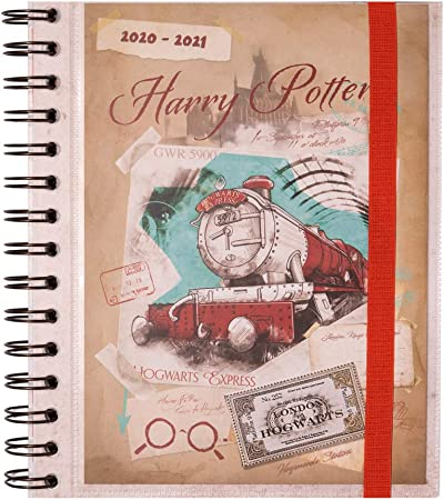 Oferta amazon: Grupo Erik - Agenda escolar 2020/2021 Semana vista Harry Potter, 11 meses (15,5x19 cm)