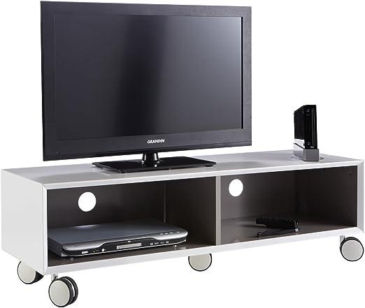 Demevere - Mueble con Ruedas para televisor (120 x 36 x 40 cm ...