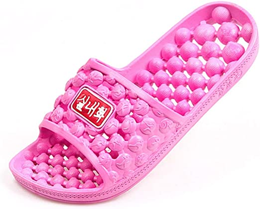 Massage Slippers Women Men Shower Slides Bathroom House Shoes Hollow Sandals Hot