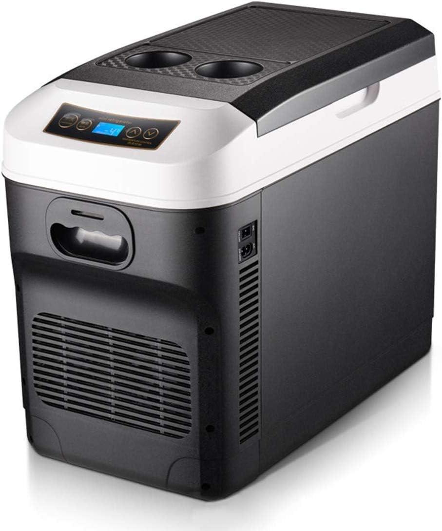 LLYU Control de Recorrido Caliente Frigorífico Pantalla Digital de Temperatura/fría del refrigerador del Coche eléctrico Nevera portátil congelador ...