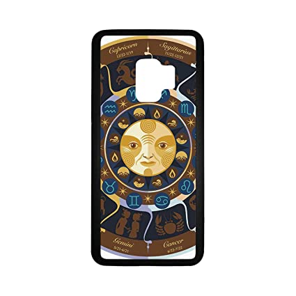 Amazon com: Astrology Rubber Phone Case,Aries Taurus Gemini