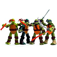 Set Van 4 Teenage Mutant Ninja Turtles Set Action Figure Anime Karakter Model Speelgoed Ninja Turtles Actiefiguren Sets…