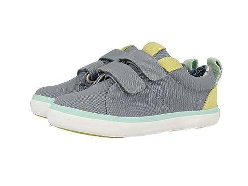 Gioseppo SMITH, Zapatillas con Velcro Mujer, Gris, 28 EU