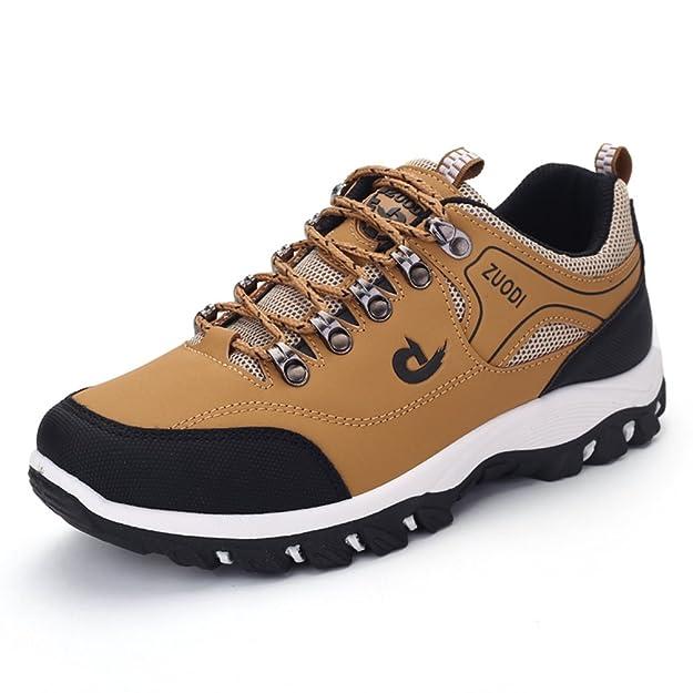 Männer Wandern Schuh Sport Leder Outdoor Wandern Sneakers Schuhe Sport Herren Kletterschuhe Qy8SUokB5