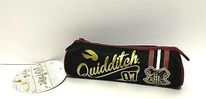 Estuche bolso portatodo Harry Potter Quidditch cañón + bolígrafo con purpurina + marcapáginas: Amazon.es: Oficina y papelería