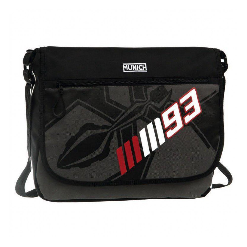 Munich Marc Marquez 93 Mochila Escolar, 11.78 litros, Color Negro: Amazon.es: Equipaje