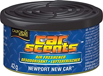 California Scents Lufterfrischer Newport New Car Heim Lufterfrischer 6 Stück Auto