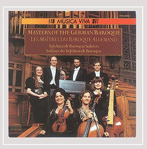 German Baroque Chamber Music - Bach / Handel / Rosenmuller:  Masters of the German Baroque