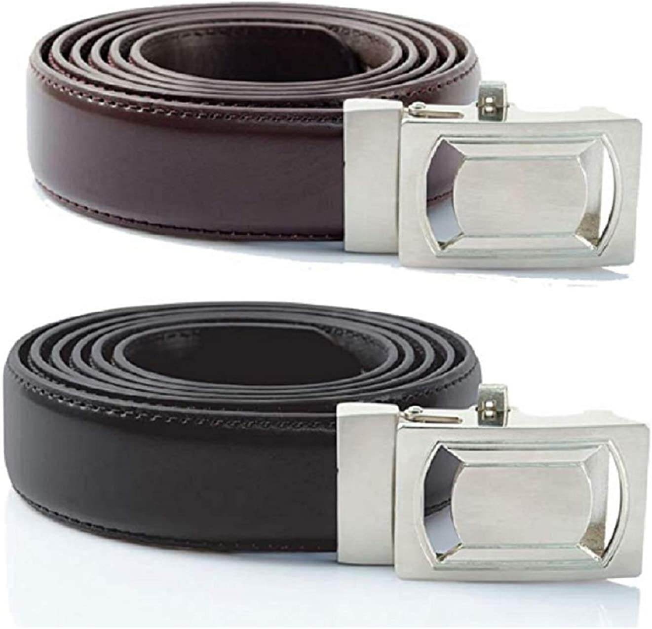 """Ideaworks Click 'N' Go Belts – Easy Fit Belts – Adjusts Every ¼"""" – Fits 28""""-56"""" Sizes – Quick Release Feature"""