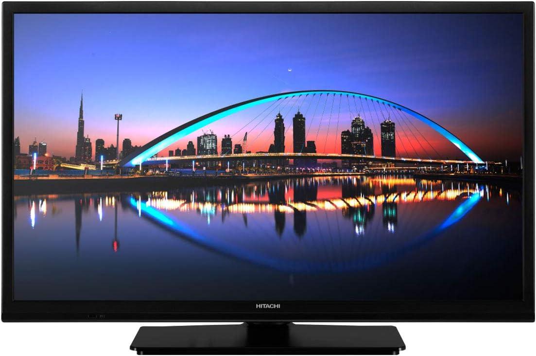 TV hitachi 24pulgadas led HD - 24he1100-2 hdmi - 1 USB - Modo Hotel - a+ - 200 bpi - tdt2 - satelite 2: Amazon.es: Electrónica