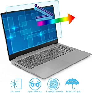 Anti Blue Light and Anti Glare Screen Protector for 17 Inch 16:10 Laptop. Filter Out Blue Light and Relieve Eye Strain to Help You Sleep Better