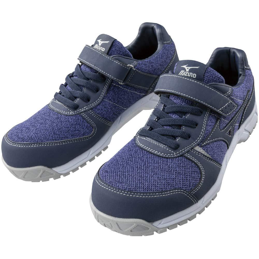 ミズノ 安全靴 オールマイティ FS32L 軽量 メッシュ ゴム紐 JSAA・普通作業用(A種) レディース