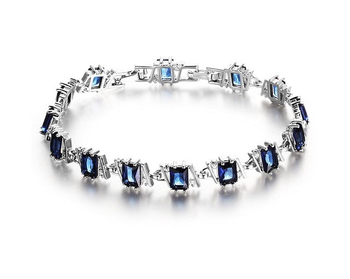 Bracelet pour femme de Lily Jewelry, bracelet mesdames tendance en cristal autrichien éléments Swarovski strass brillants Lily-2015-B04