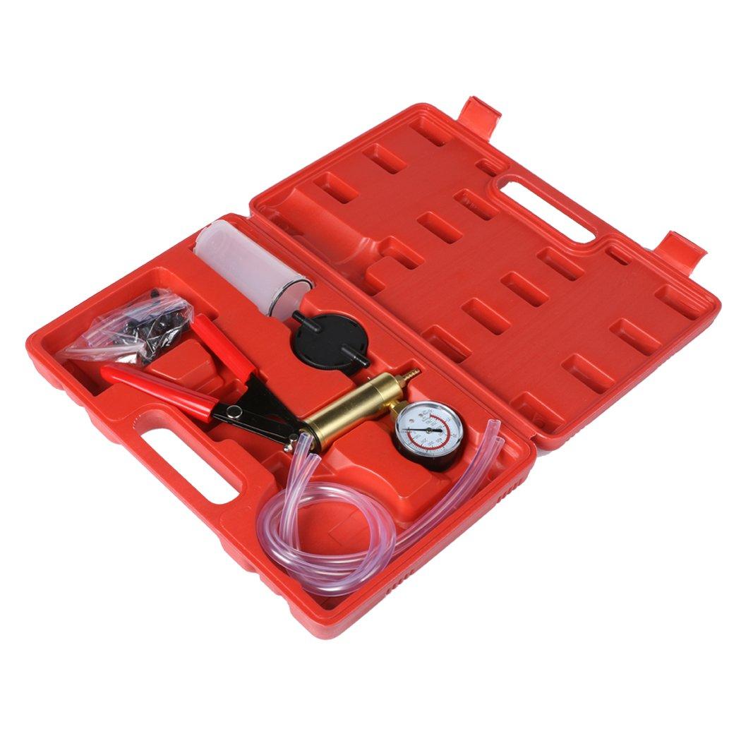 Eshion Car Auto Vehicles 2 In 1 Brake Bleeder And Hand Held Manual Vacuum Pump Tool Kit by eshion (Image #3)