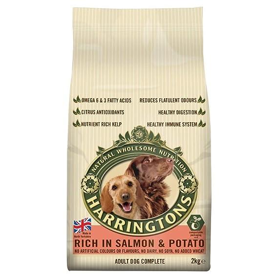 Harringtons Complete Dog Food Salmon Potato 2kg