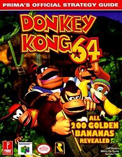 Donkey kong 64 official strategy guide brady games bradygames donkey kong 64 primas official strategy guide fandeluxe Gallery